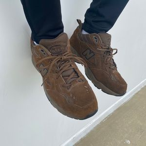 Brown New Balance 608 Sneakers